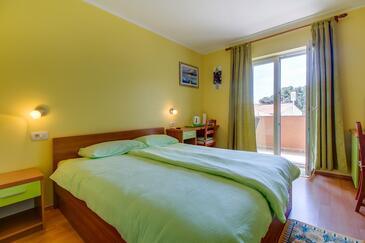 Nerezine, Ložnice v ubytování typu room, s klimatizací a WiFi.