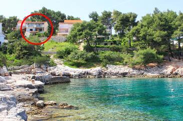 Basina, Hvar, Objekt 11817 - Ubytovanie blízko mora s kamienkovou plážou.