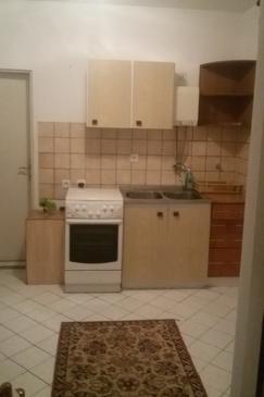 Orebić, Kuchyňa v ubytovacej jednotke studio-apartment, WiFi.