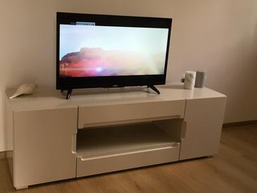 Novi Vinodolski, Living room in the house, WIFI.