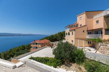 Zavode, Omiš, Property 11861 - Apartments with pebble beach.
