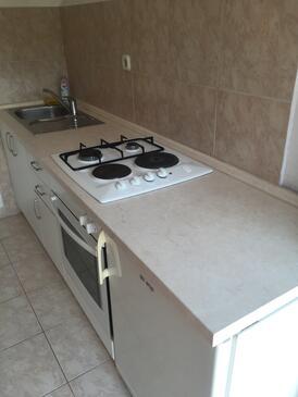 Podgora, Kuchyňa v ubytovacej jednotke studio-apartment, dopusteni kucni ljubimci i WIFI.