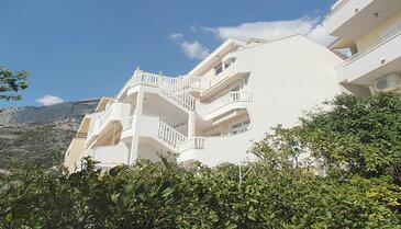 Baška Voda, Makarska, Objekt 11905 - Ubytovanie s kamienkovou plážou.