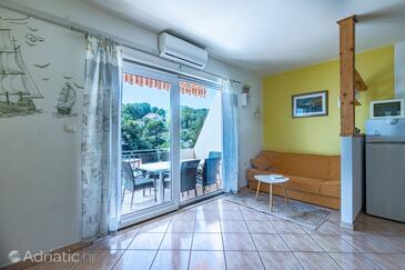 Basina, Obývací pokoj v ubytování typu apartment, domácí mazlíčci povoleni a WiFi.