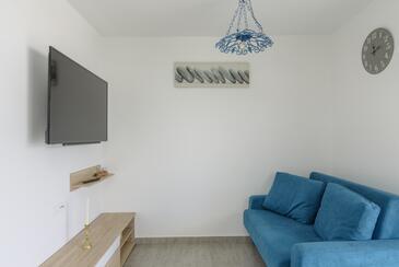 Rogoznica, Гостиная в размещении типа apartment, WiFi.