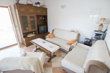 Žuronja, Obývací pokoj v ubytování typu apartment, s klimatizací, domácí mazlíčci povoleni a WiFi.