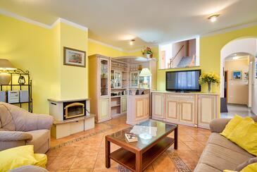 Ripenda, Camera di soggiorno nell'alloggi del tipo house, condizionatore disponibile, animali domestici ammessi e WiFi.