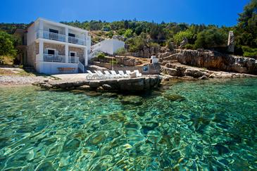 Pokrivenik, Hvar, Property 12040 - Vacation Rentals near sea with pebble beach.