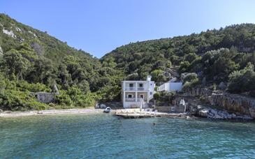 Pokrivenik, Hvar, Objekt 12040 - Ubytování v blízkosti moře s oblázkovou pláží.