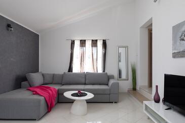 Osibova, Obývací pokoj v ubytování typu apartment, s klimatizací, domácí mazlíčci povoleni a WiFi.