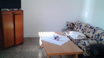 Jezera, Гостиная в размещении типа house, Домашние животные допускаются и WiFi.