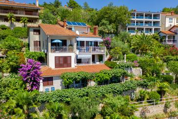 Rabac, Labin, Property 12107 - Apartments with pebble beach.