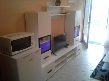 Crikvenica, Obývací pokoj v ubytování typu apartment, WiFi.