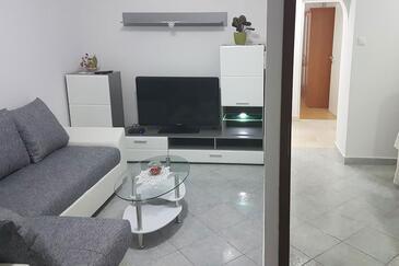 Crikvenica, Dnevna soba v nastanitvi vrste apartment, WiFi.
