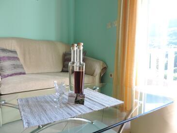 Zaton Mali, Living room in the apartment, WiFi.