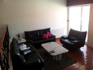Seget Vranjica, Obývacia izba v ubytovacej jednotke apartment, WIFI.
