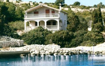 Dragišina, Žut, Objekt 12150 - Ubytování v blízkosti moře.