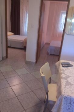 Povljana, Столовая в размещении типа apartment, доступный кондиционер, Домашние животные допускаются и WiFi.