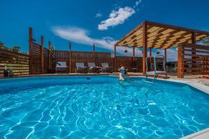 Family friendly house with a swimming pool Pakoštane (Biograd) - 12185