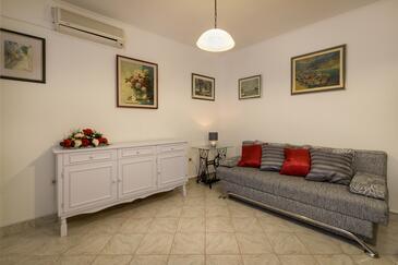 Baška Voda, Гостиная в размещении типа apartment, доступный кондиционер и WiFi.