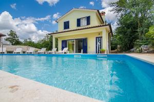 Family friendly house with a swimming pool Kršan - Vlašići, Central Istria - Središnja Istra - 12224
