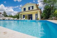 Дом для семьи с бассейном Kršan - Vlašići (Središnja Istra) - 12224