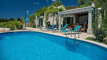 Bol, Brač, Property 12228 - Vacation Rentals with pebble beach.