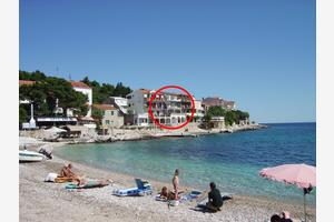 Apartments by the sea Milna, Hvar - 12244