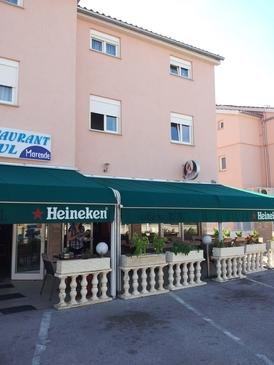Vodice, Vodice, Property 12258 - Apartments with pebble beach.