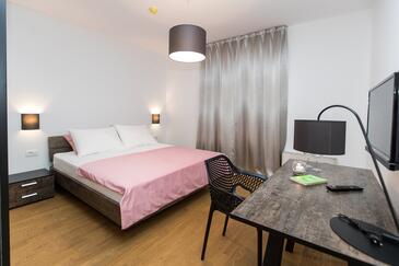 Selce, Спальня в размещении типа room, доступный кондиционер и WiFi.