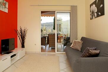 Vela Luka, Obývací pokoj 1 v ubytování typu house, WIFI.