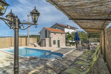 Grubine, Zagora, Hébergement 12298 - Maison vacances avec une plage de galets.