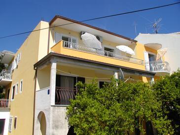 Podgora, Makarska, Objekt 12306 - Ubytovanie s kamienkovou plážou.