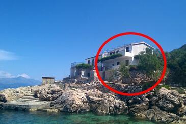 Virak, Hvar, Hébergement 12321 - Appartement à proximité de la mer avec une plage de galets.