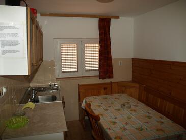 Novi Vinodolski, Jídelna v ubytování typu apartment, WiFi.