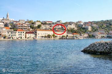 Povlja, Brač, Objekt 12362 - Ubytování v blízkosti moře s oblázkovou pláží.