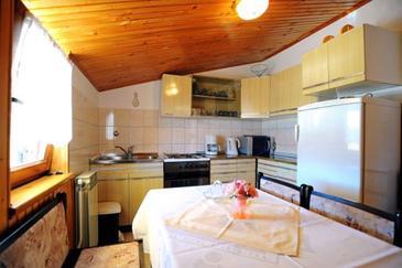 Rabac, Kuchyně 1 v ubytování typu apartment, WiFi.