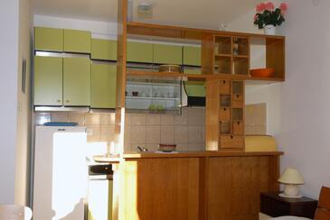 Rabac, Kuchyně v ubytování typu studio-apartment, WIFI.