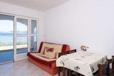 Pještata, Obývací pokoj v ubytování typu apartment, domácí mazlíčci povoleni a WiFi.