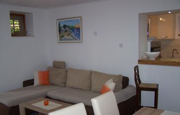 Korčula, Гостиная в размещении типа apartment, доступный кондиционер, Домашние животные допускаются и WiFi.