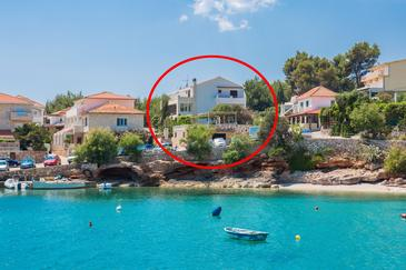 Zavala, Hvar, Property 124 - Apartments and Rooms near sea with pebble beach.