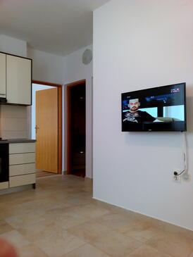 Mandre, Dnevni boravak u smještaju tipa apartment, WiFi.