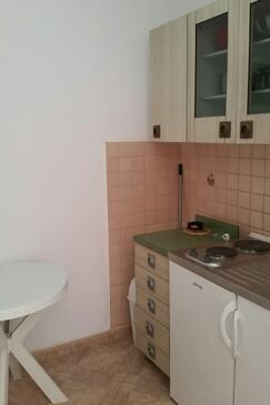 Novalja, Kuchyně v ubytování typu studio-apartment, WiFi.