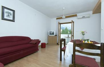 Baška Voda, Гостиная в размещении типа apartment, WiFi.