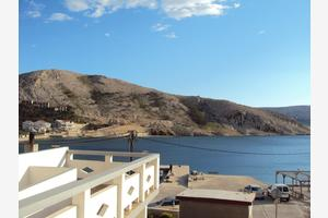 Apartments by the sea Metajna (Pag) - 12443
