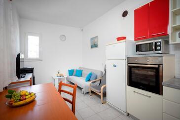 Kruševa, Salon dans l'hébergement en type house, animaux acceptés et WiFi.