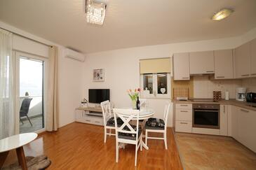 Supetar, Гостиная в размещении типа apartment, доступный кондиционер и WiFi.