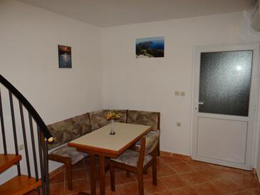 Borje, Jedáleň v ubytovacej jednotke house, klimatizácia k dispozícii, domáci miláčikovia povolení a WiFi.