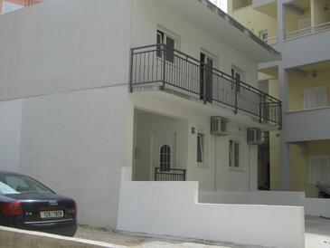 Baška Voda, Makarska, Objekt 12509 - Apartmaji s prodnato plažo.