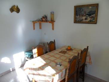 Bratinja Luka, Dining room in the house, dopusteni kucni ljubimci.